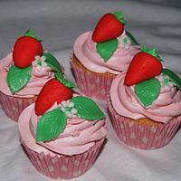 Cath Kidston Style cupcakes by Sandra's cakes