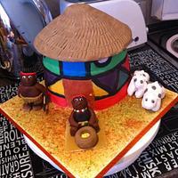 African Hut by melginsie