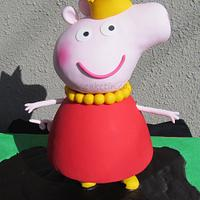3D Peppa Pig in Mud