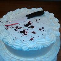 Anti-birthday cake by JaeP