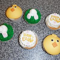 Easter Cupcakes by Swirlytop Cupcakes