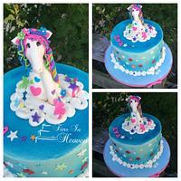 Holly Hobby horse birthday cake