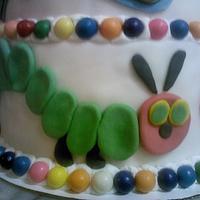hungry caterpillar by Andria Jones