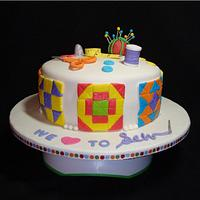 Sewing/Quilting Cake