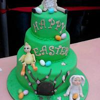 happy easter by Daniela Morganti (Lela's Cake)