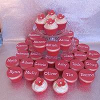 SATS cupcakes by CheryllsCupcakes