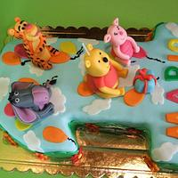Cake Winnie the pooh and his friends by Marilena