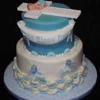 Brett's Baptism Cake