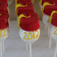 USC Graduation Cakepops by carolyn chapparo