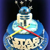 May the 4th be with you!!  - R2D2 Cake by Clairella Cakes