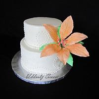 Tiger Lily Birthday Cake