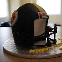 Steelers Football helmet