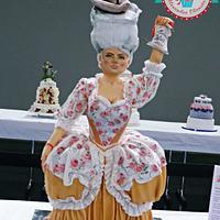 "Sculpted cake ""Madame Deficit """