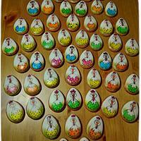 Velikonoční perníčky ručně malované