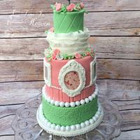 Mini 5 tier cake