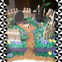 Cemetary Cake
