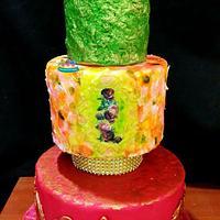 Vibrant cake