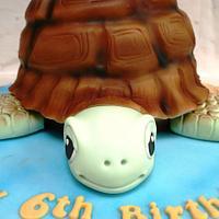 My Turtle Cake by BakedByBecky
