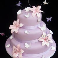 Jane Anne wedding Cake