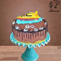 birthday cake - chocolate