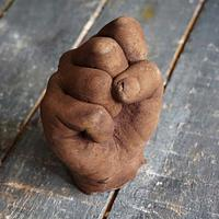 Dark Chocolate Hand