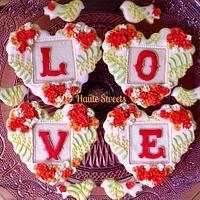 L.O.V.E. Heart Cookies