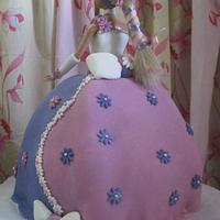 Barbie Cakes by Delectably Baked