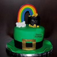 St. Patty's Birthday Cake!