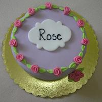 A little cake for Rose