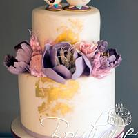 """Baby Shower Cake """"Chip and Mrs Potts"""""""