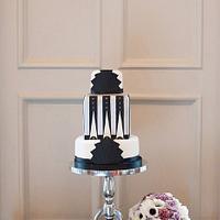 Art Deco Cake by Melissa Woodland Cakes