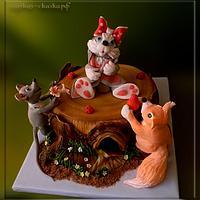 "Cake ""Birthday hare"" by Svetlana"
