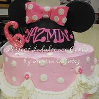 Minnie Mouse Cake for Jasmine