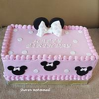 Mini mouse cake by Shery Sweet