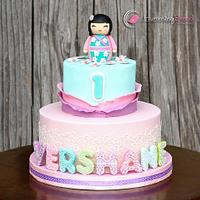 Chubby Kimmi Doll and Cupcake Toppers