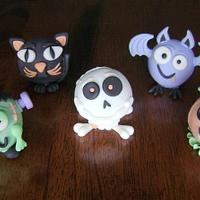Halloween Character Cake Pops