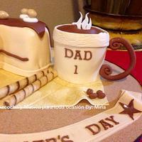 Mug Coffe, Cake