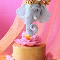 Ganesha Cake for 'Incredible India Cake Collaboration'