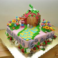 strawberry shortcake's garden
