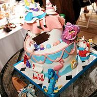 Alice in Wonderland Topsy Turvy