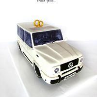 """Wedding cake  """"MERCEDES G-Class"""""""