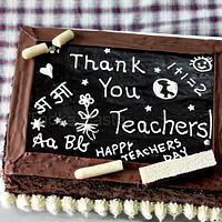 Thank you, Teachers