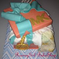 Michael Kors Gift Box Cake