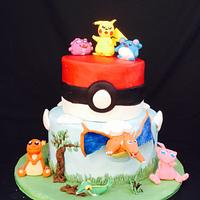 Pokémon birthday cake