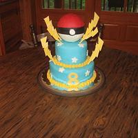 Pokemon cake by mom09