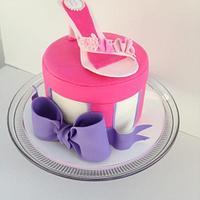 Gum-paste shoe