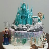 Frozen all the way......