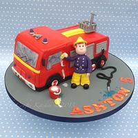 Fireman Sam & Jupiter. by The Crafty Kitchen - Sarah Garland