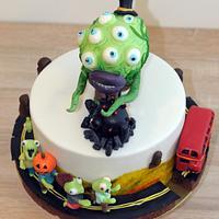 Cakes Zombie tsunami