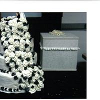 wedding cake by CC's Creative Cakes and more...